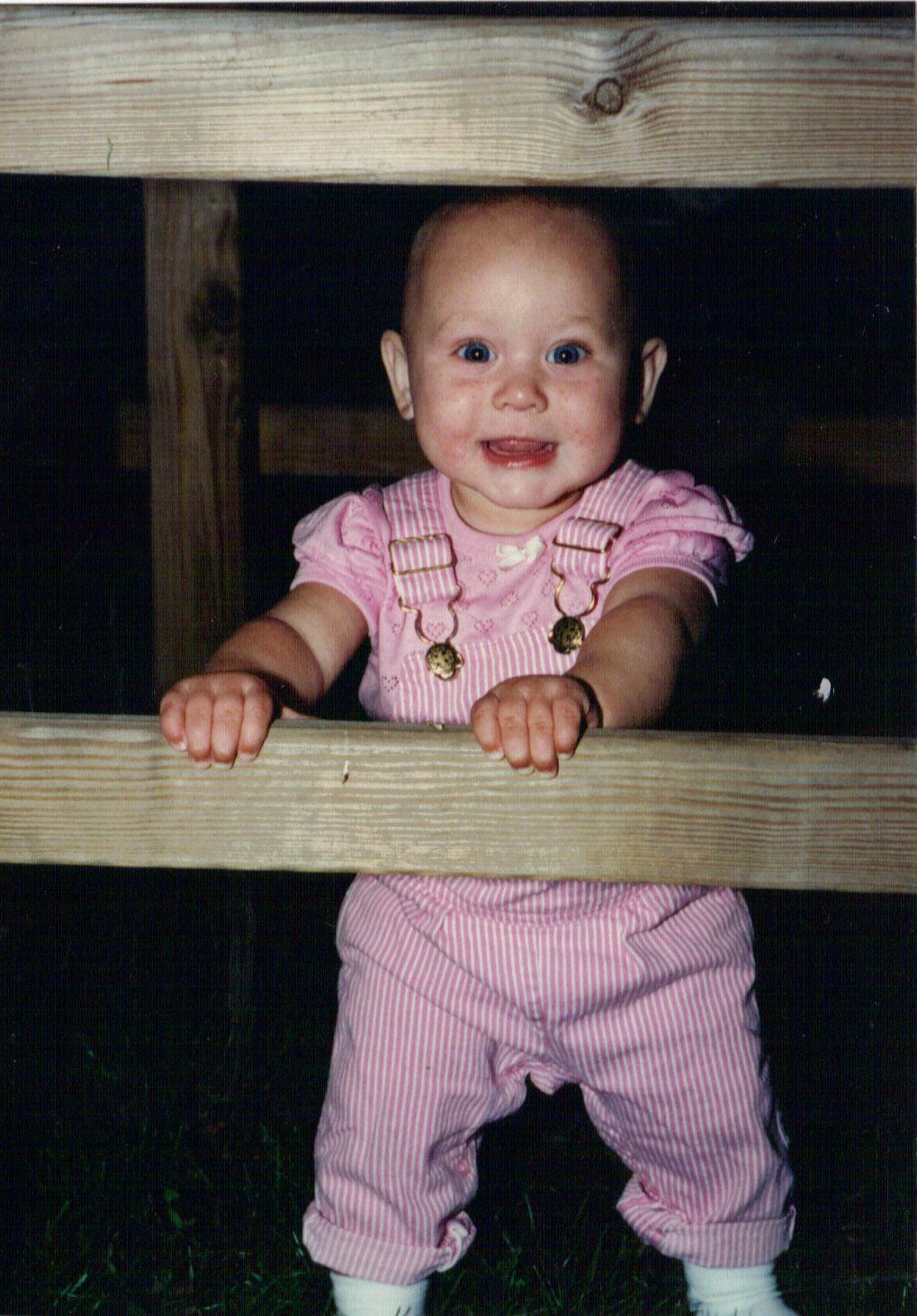 Krisen Carr daughter baby